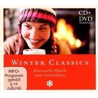 WINTER CLASSICS - KLASSISCHE MUSIK ZUM VERWÖHNEN  CD+DVD NEU