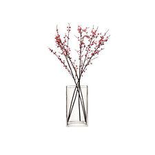 LSA Flower Rectangular Bunch Vase 32cm - Clear
