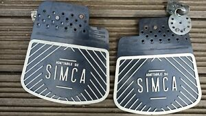 Pair Of SIMCA Mud flaps Fits All Models