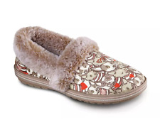 Skechers Womens Bobs For Dogs Comfort Casual Too Cozy Two Cuties Slipper Shoes