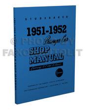 1951 1952 Studebaker Riparazione Auto Shop Manuale Champion Commander Land