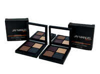Jay Manuel Beauty Intense Color Eyeshadow Quad (Crave)0.05oz New In Box & Sealed