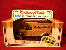 ERTL 1/25 NEW IN BOX DIECAST MONTGOMERY WARD 1917 MODEL T DELIVERY TRUCK BANK