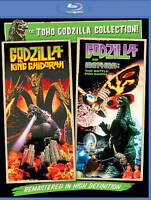 Godzilla Vs. Mothra + Godzilla Vs. King Ghidorah Bluray 2PK! NEW! USA RELEASE!