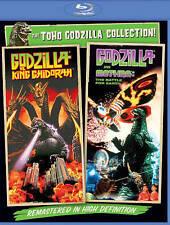 Godzilla vs. King Ghidora / Godzilla vs. Mothra (Blu-ray) New