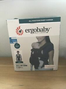 Genuine Ergobaby Omni 360 Cool Air Mesh all position Baby Carrier - Onyx Black