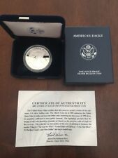 2005-W PROOF SILVER EAGLE ORIGINAL PACKAGING/COA