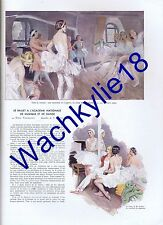 L'illustration n°4903 du 20/02/1937 Danse Ballet  opéra Garnier Malaga Syrie Ads