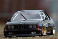 1:18 Tuning BMW 635 CSi 1983 Phantom Schwarz+BBS Echtalu PVC-Felgen + OVP = RAR