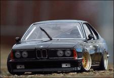 1:18 tuning bmw 635 CSI 1983 phantom negro + BBS echtalu PVC-llantas + embalaje original = rar