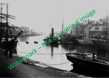 "Weymouth, Dorset - The Harbour, early 1900s. 7""x5"" Photograph."