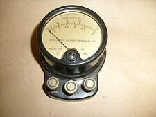 Weston Electrical Instruments Amperes AC Meter Model 528 Desk unit 0-15