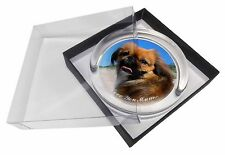 Pekingese Dog 'Love You Mum' Glass Paperweight in Gift Box Christm, AD-PE90lymPW