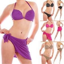 Markenlose Damen-Bikini-Sets mit Slips