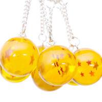 Anime Dragon Ball Z Crystal Star Action Keychain Pandent Toys Key chain