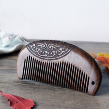 Pocket Comb Wooden Comb Sandalwood Narrow Tooth No Static Lice Beard Comb House