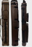Vincitore CH46-4 - 4x6 Brown Leatherette Cue Case - CH46 4 - Free Shipping