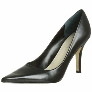 Nine West BARBE Classic Wicked Pointy Toe Pump BLACK PATENT or LEATHER 12M