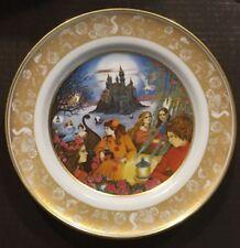 The Grimm's Fairy Tales Porcelain Plate The Twelve Dancing Princesses RARE 1978