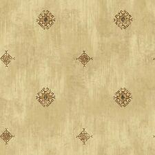 Southwestern / Western Design on Beige on Easy Walls Wallpaper FG36081