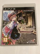 Atelier Rorona The Alchemist of Arland - PS3 UK PAL VGC **FREE UK POSTAGE**