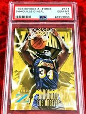 1996 SKYBOX Z-FORCE SHAQUILLE O'NEAL ZUPERMAN #187 PSA 10