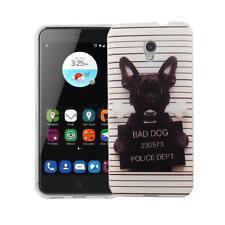 Funda para móvil Diseño Cubierta de protección TPU ZTE Blade V7 BAD DOG + 9h