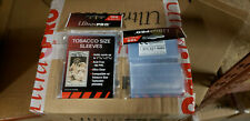 100 ct pack of Ultra Pro Tobacco Size Sleeves new in package