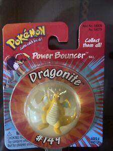 1999 Dragonite Power Bouncer Hasbro/Nintendo Pokemon Bouncy Ball