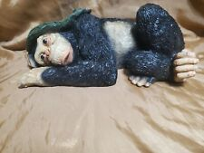 Adorable chimpanzee figurine