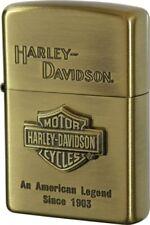 New Zippo Oil lighter Harley Davidson HDP-11 Limited Edition S MetalGold Logo JP