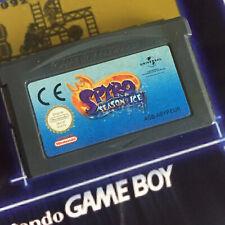Spyro Season of Ice Nintendo Gameboy Advance Game Cartridge