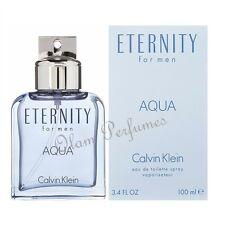 Calvin Klein Eternity Aqua For Men EDT Spray 3.4oz 100ml * New In Box Sealed *