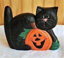 Eddie Walker Midwest Cannon Falls Black Cat with Pumpkin