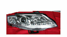 DRL Like LED Chrome Projector Headlights For Ford Falcon FG Sedan Ute XT FPV