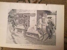 u2-2 ephemera 1905 book plate f w burton the law of compensation