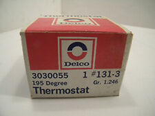 NOS Delco 195 Degree Thermostat 131-3 Gr. 1.246 3030055 (GM/Jeep/MG/Ford/Mopar)