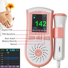 US! 4 FUNCTION MATERNITY FETAL DOPPLER 3MHZ FETUS PREGNANCY FHR MONITOR