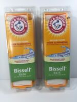2 BISSELL 8 & 14 ARM & HAMMER Odor Eliminating Vacuum Filter #62648F 8/14 NEW