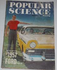 Popular Science Magazine 1957 Ford October 1956 120514R