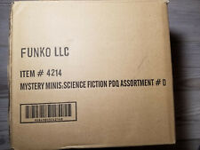 Funko Sci Fi Series 1 (Box D) Mystery Minis blind box Full Unopened Case of 12