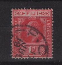 FIJI SG119  1d RED  1906  FINE USED
