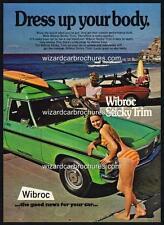 1975 HOLDEN HJ PANEL VAN SEXY HOT BIKINI GIRL A3 POSTER AD ADVERT SALES BROCHURE