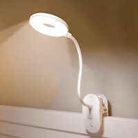 Reading Lamp Clip Light USB LED Bed Lamp Desk Table Lamp With Clip Dimmable