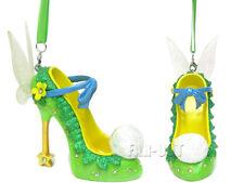 Walt Disney World Parks, Tinkerbell Shoe Ornaments. NWT.