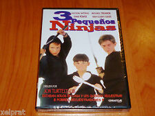 3 PEQUEÑOS NINJAS / THREE NINJAS - English / Español - DVD R2 - Precintada
