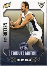 2008 Select AFL Classic HOF Tribute Match Card TM49 Ben Rutten (Adelaide)