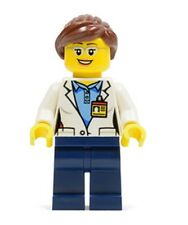 LEGO SCIENTIST MINIFIGURE ~ City Space Woman Minifig   NEW