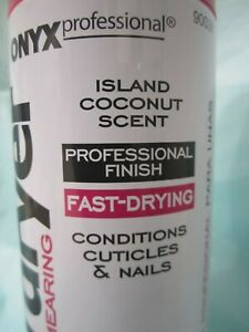 ONYX Professional Nail Polish Drying Spray ,Conditions Cuticles & Nails.7.5 oz