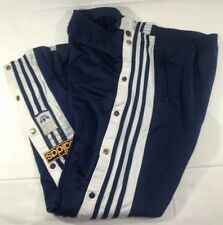 VTG Adidas Track Pants Equipment Tear Away Firebird Men's Medium 90's Trefoil